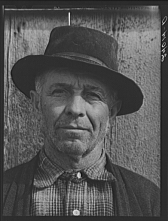 "1. ""Sheepherder, Dangberg Ranch, Douglas County, Nevada."""