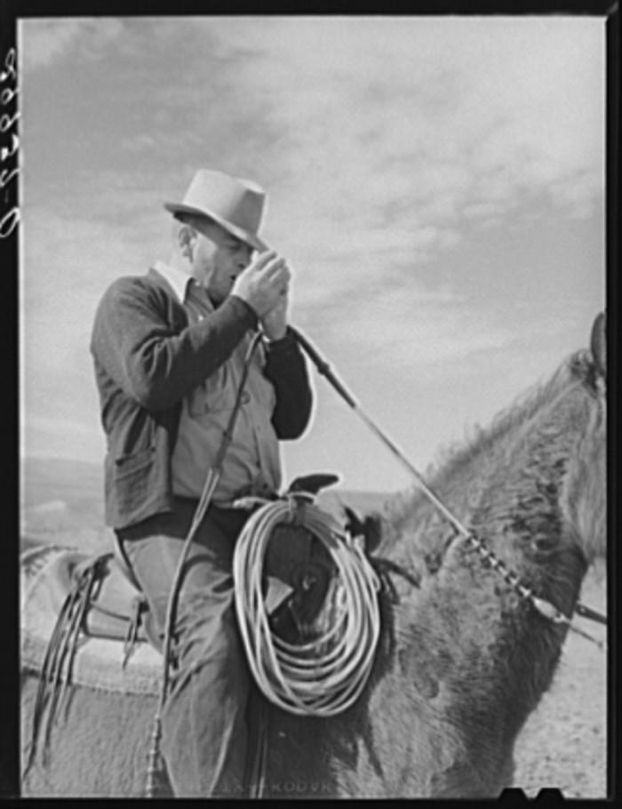 "11. ""Cowhand. Elko County, Nevada."""