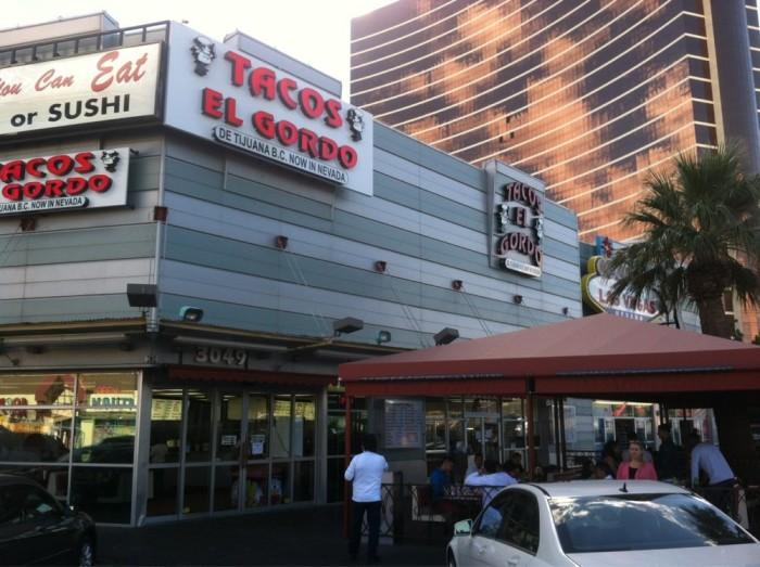 1. Tacos El Gordo - Las Vegas