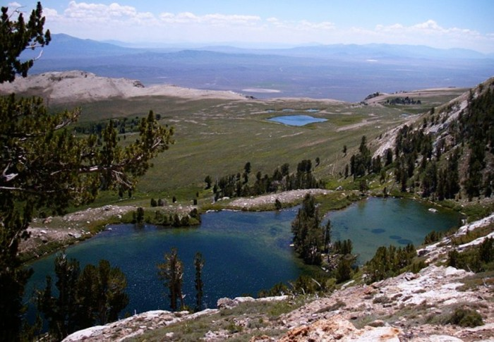 4. Hidden Lakes - Ruby Mountains