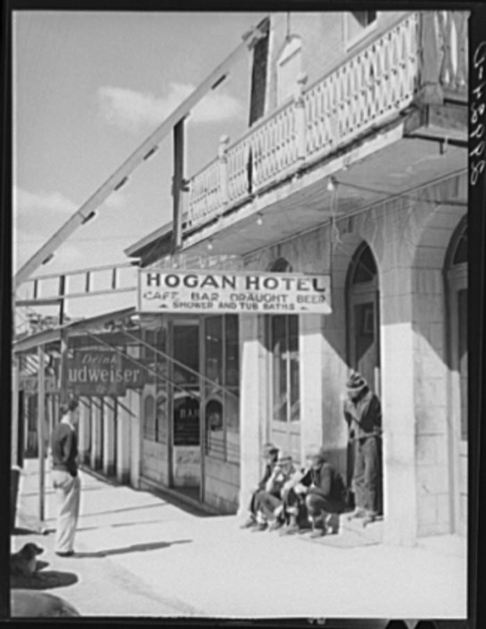 12. Hogan Hotel in Austin, Nevada.