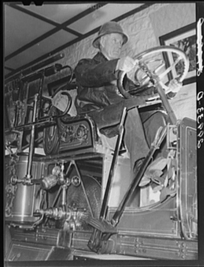 13. A fireman in Carson City, Nevada.