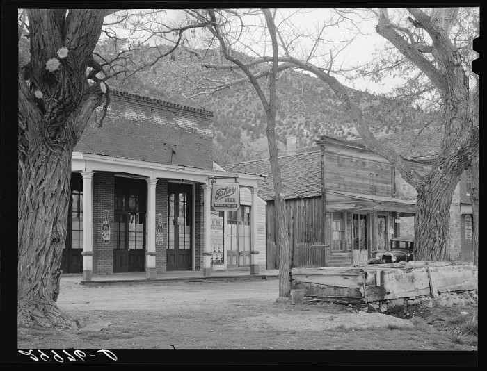 15. The Silver State's oldest thirst parlor in Genoa, Nevada. It's known today as Genoa Bar and Saloon.