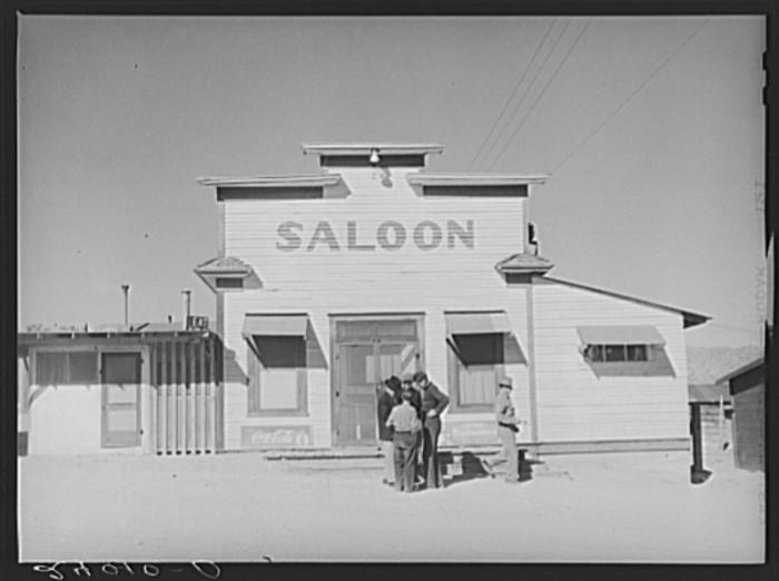 2. A saloon in Silver Peak, Nevada.