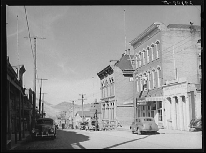 10. Virginia City's main street.