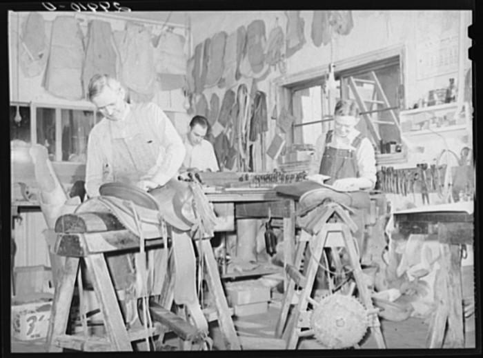 "10. ""Saddle makers. Capriola Saddlery, Elko, Nevada"""