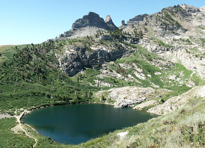 7. Angel Lake