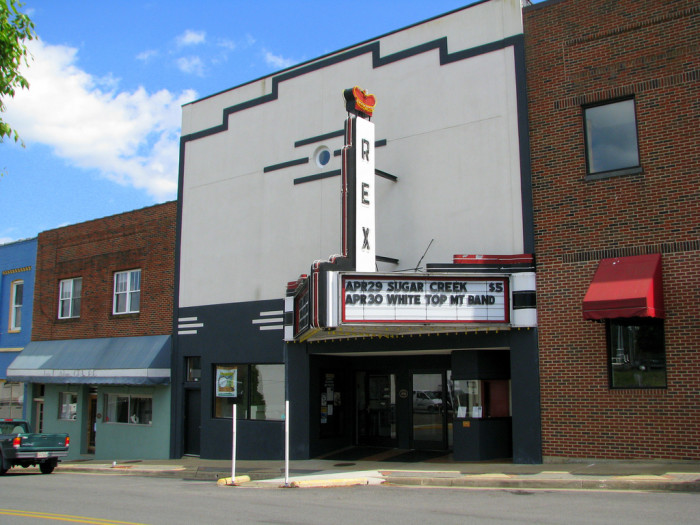 Old Fiddlers and Rex Theater
