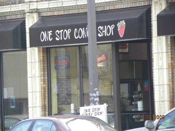 1) One Stop Coney Shop, Grand Rapids