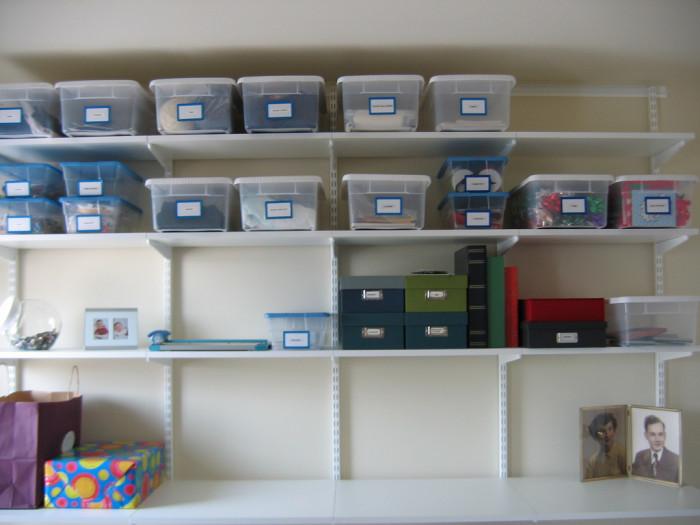 12. Organize.