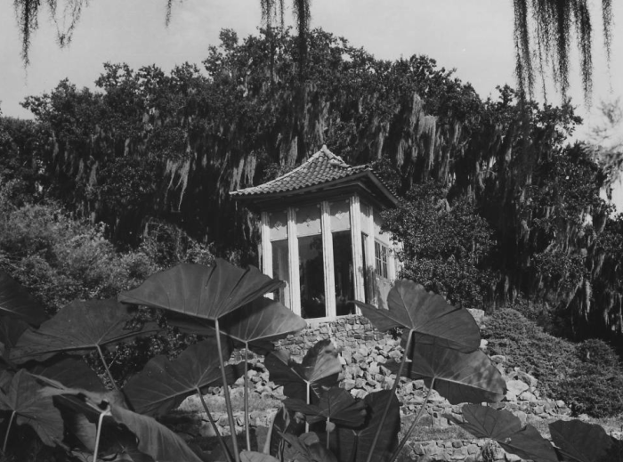 4. The Pagoda at Avery Island in 1974.