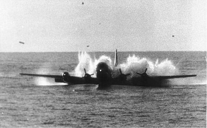 11) Pan American Flight 943 lands in the Pacific Ocean near Hawaii in October 1956, when two out of four engines lost power and an emergency water landing was necessary.