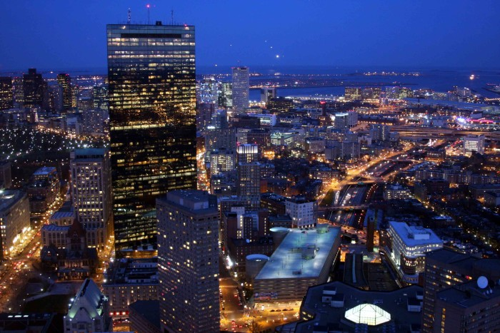 7. Take in the snowy city from the Skywalk Observatory. $16 for adults, $11 for children, and $13 for students and seniors, this is a definitely a cheap thrill in the best way possible. Gaze out across Boston from 52 floors in the air. The price includes an audio tour and entry to the Dreams of Freedom Museum. Call ahead to make sure they're open!