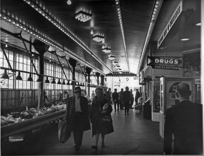 7. Pike Place Market in Seattle looked quite a lot different back in 1968 than it does now.