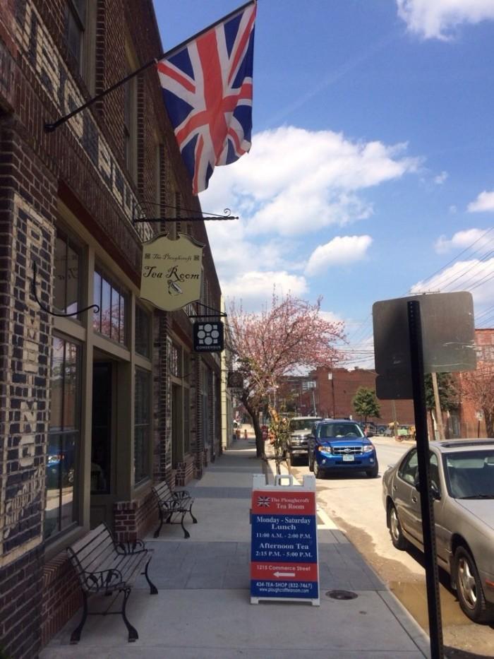 5. Ploughcroft Tea Room, Lynchburg