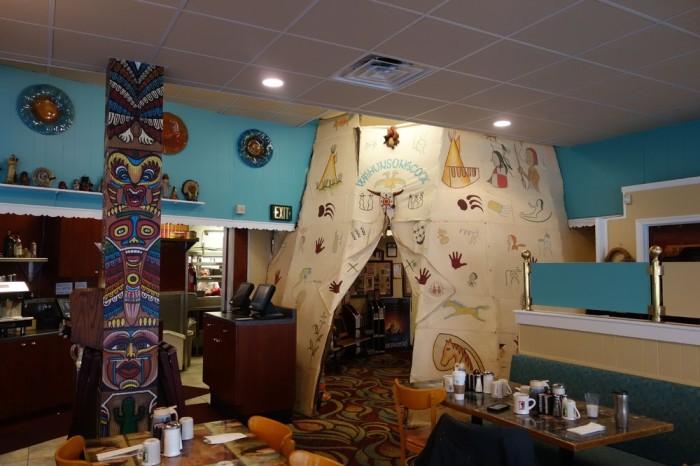 Pocahontas Pancakses interior