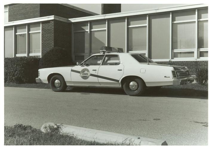 14. Police cars