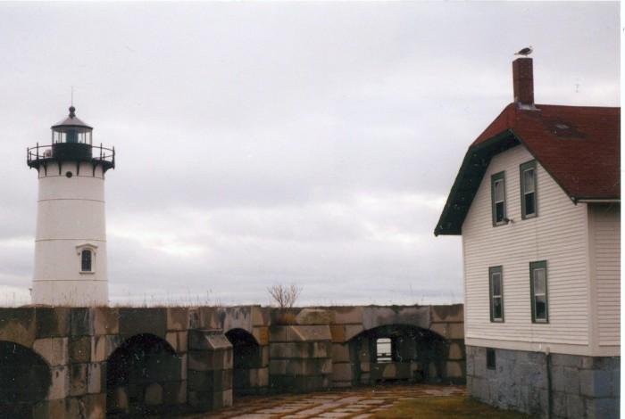6. Portsmouth Harbor Light, Portsmouth