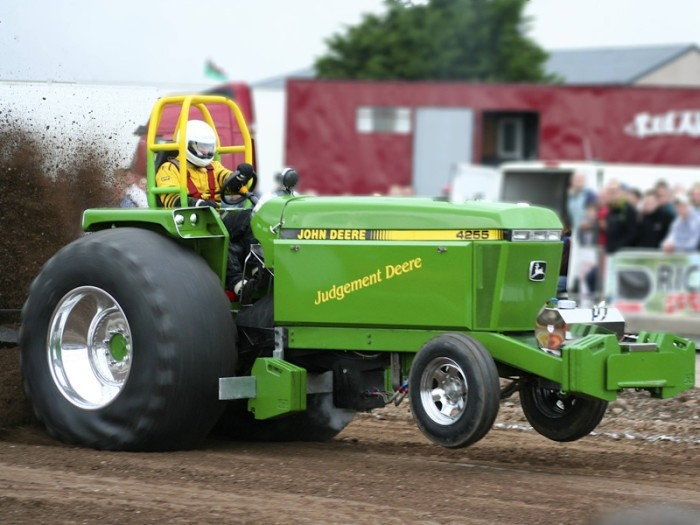 1. Tractor Pulling