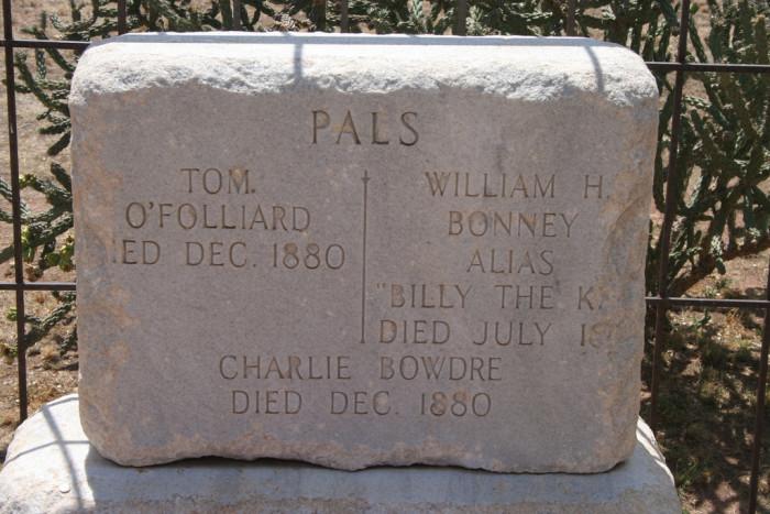 10. Billy The Kid's Grave, Fort Sumner