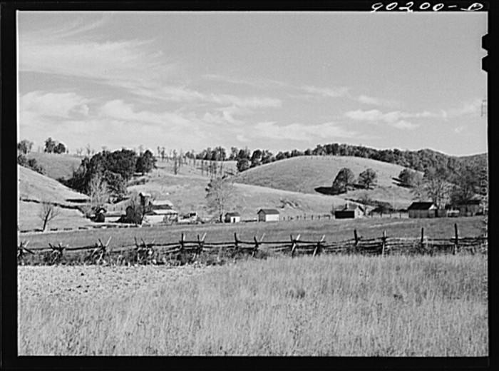 13. A farm in Radford, 1941.