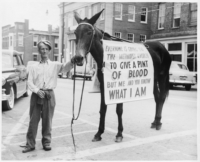 1. Red Cross Blood Drive ad