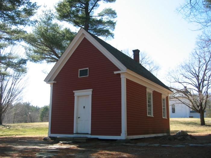 11. Mary Had A Little Lamb Schoolhouse, Sudbury