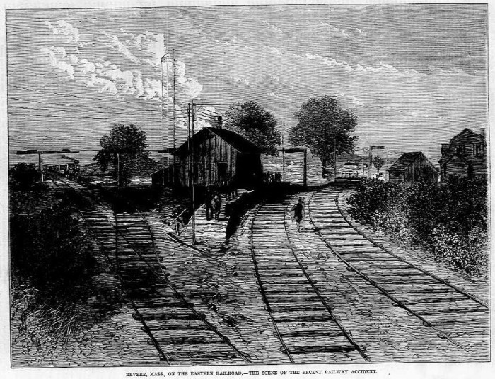 9. The Great Revere Train Wreck of 1871