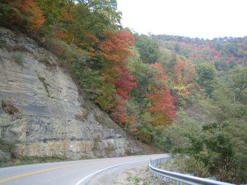 The road leading to the high point offers a beautiful, scenic drive. During the fall, the colors are breathtaking. In the summer, the lush shades of green are like a breath of fresh air.