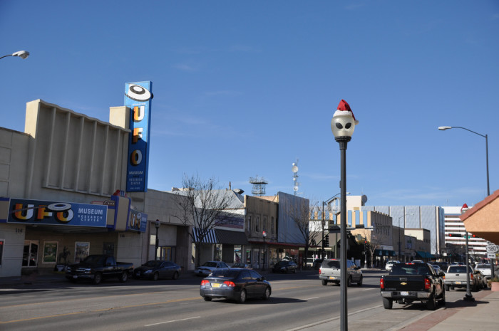 10. Roswell (population 48,623)