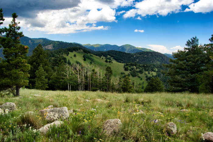 9. View from Sierra Blanca, Near Ruidoso