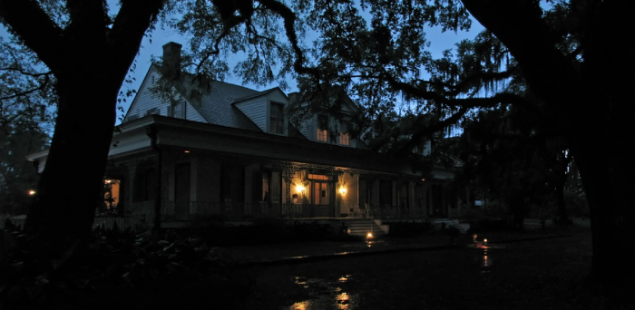 3. Nightfall on Myrtles Plantation