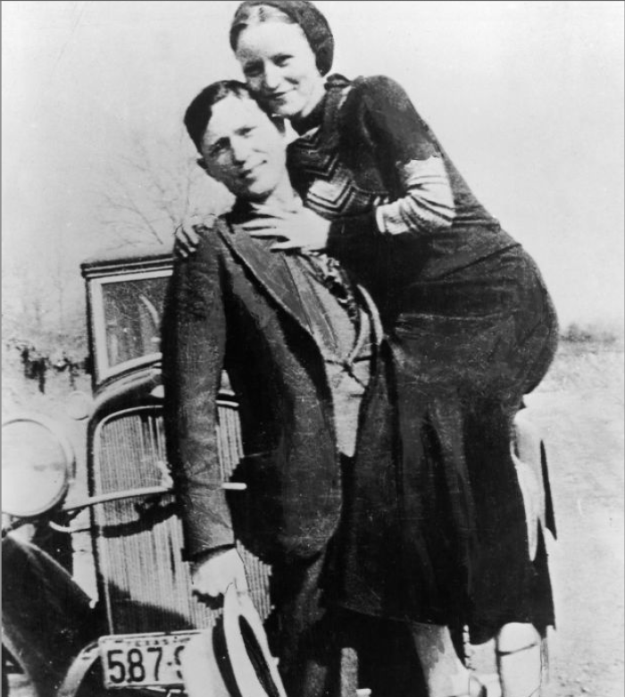 5. The death of Bonnie and Clyde