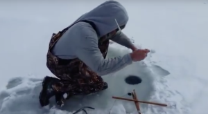 You'll Never Guess What This Ice Fisherman From Pennsylvania Reeled In From the Water