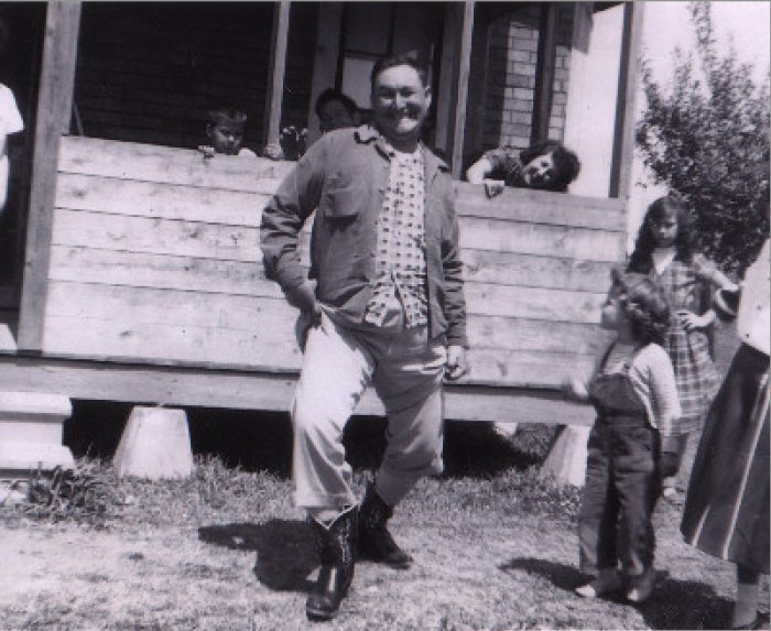 1. J. LeBlanc in the late 1950s in Jennings, LA