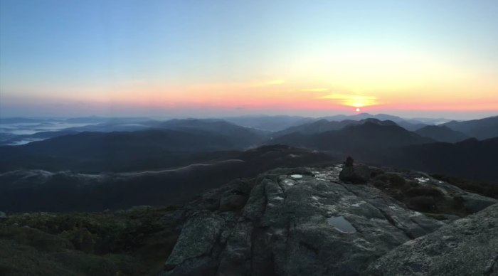 Remember how we said this hike is often done over two days? Well...here's why.
