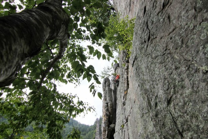 "1. We've got some of the best mountain climbing. Seneca Rocks is the only ""true peak"" -- inaccessible except by technical rock climbing techniques -- in the Eastern United States."