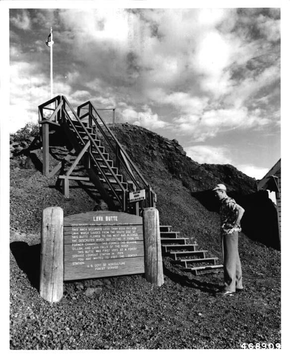 5. Lava Butte, 1951.