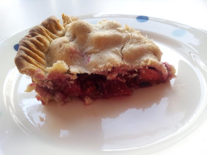 12. Strawberry-Rhubarb Pie