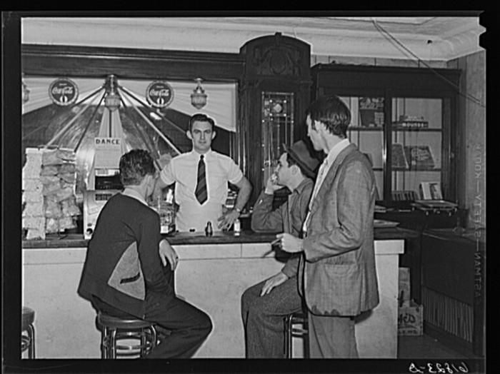 8. Soft drink parlor