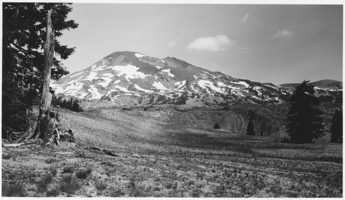 3. South Sister, Deschutes National Forest, 1954.
