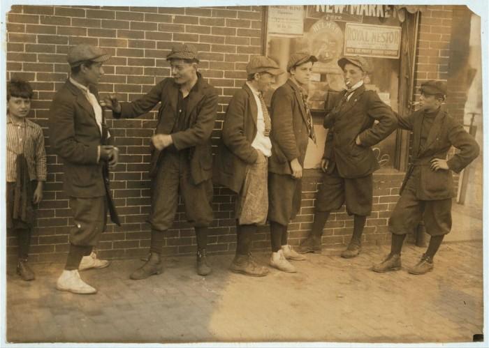 4. Street gangs at the corner of Margaret & Water streets in Springfield  around 4:30 P.M.