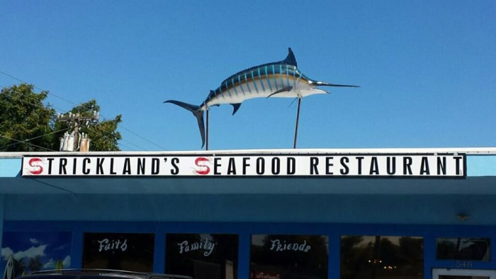 2. Strickland's Seafood