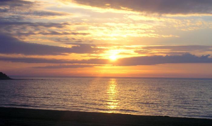 19. Sunrise on the seacoast, Hampton Beach