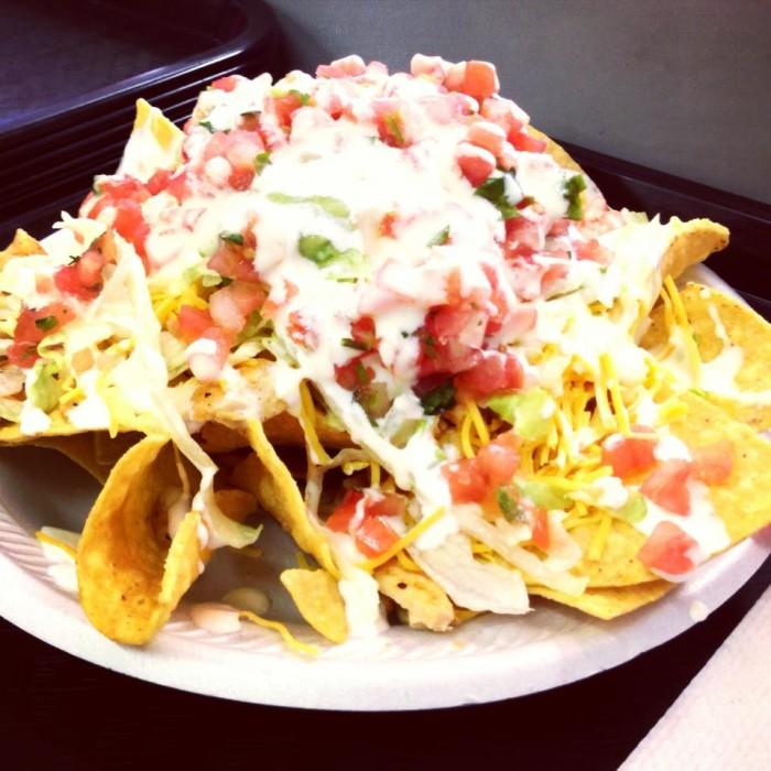 Suplex Tacos food.