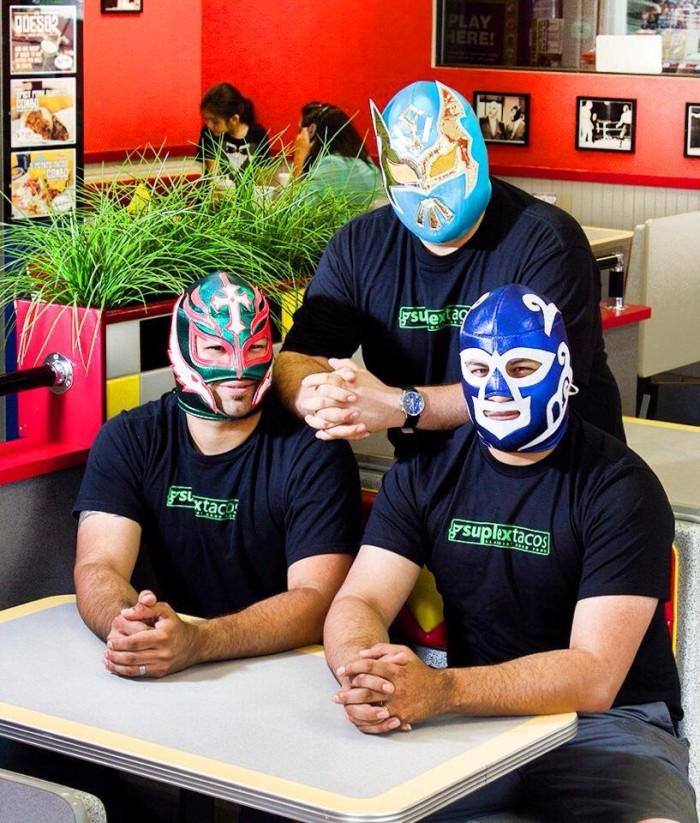 5. Suplex Tacos
