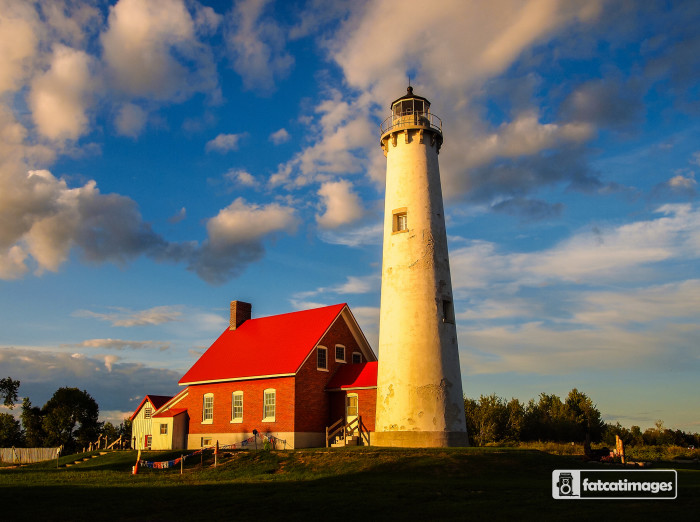 1) Tawas Point Lighthouse