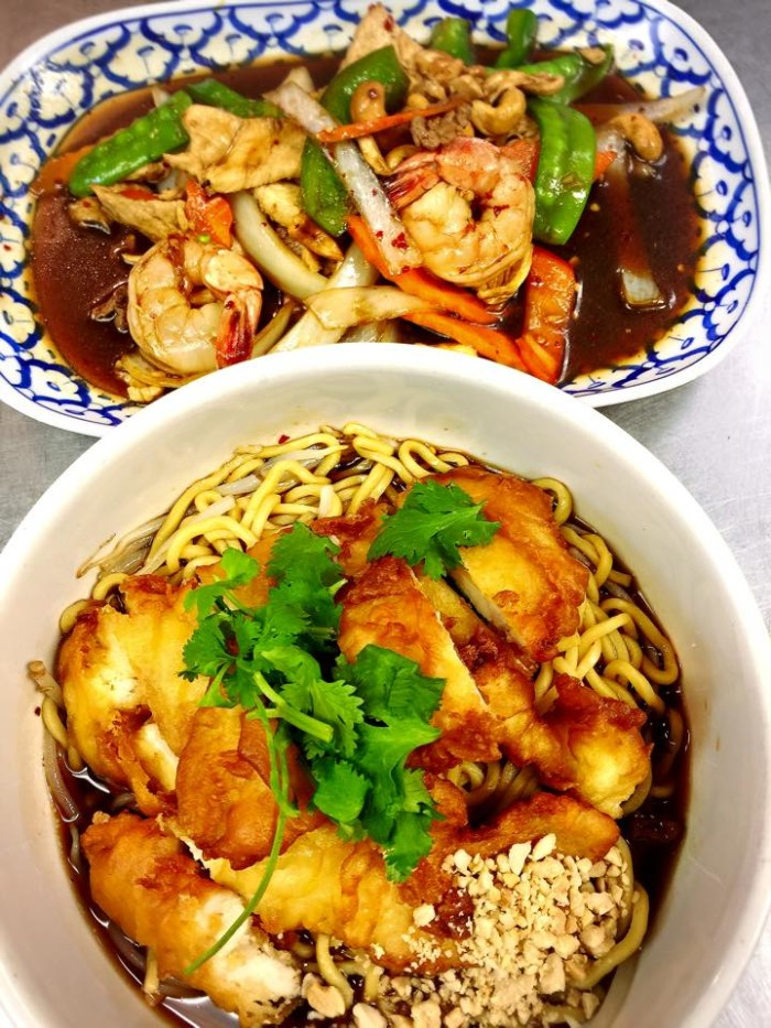 Thai Smile food.