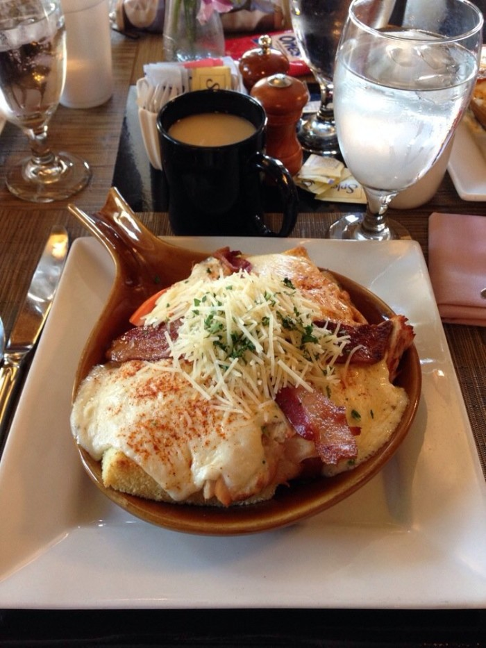 The Brown Hotel Hot Brown.