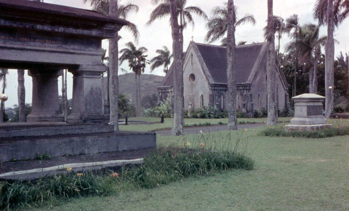 14) The Royal Mauseoleum as photographed in 1958.